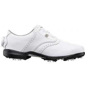 FootJoy Womens Dryjoys BOA Golf Shoes 2020 White - 99017