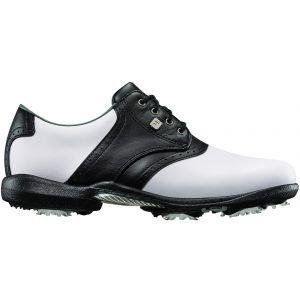 FootJoy Womens Dryjoys Golf Shoes White/Black - 99016