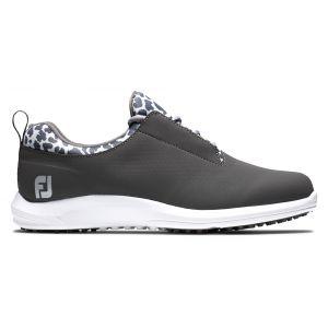 FootJoy Womens FJ Leisure Golf Shoes Charcoal/Leopard