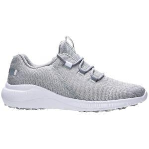 FootJoy Womens Flex Coastal Golf Shoes Silver/White