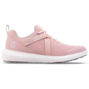 FootJoy Womens Flex Golf Shoes 2020 White/Rose - 95730