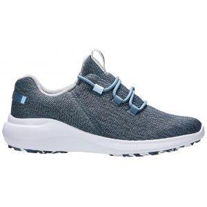 FootJoy Womens Flex Coastal Golf Shoes Navy/Blue