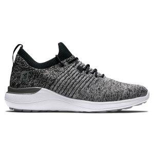 FootJoy Womens Flex XP Golf Shoes 2021 - Black/Charcoal 95336