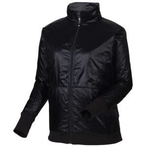 FootJoy Womens Full-Zip Knit Trim Golf Jacket Black - 27587