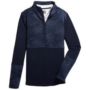 FootJoy Womens Half-Zip Piece Block Mid-Layer Golf Pullover