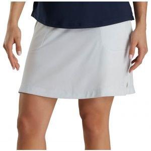 FootJoy Women's Jacquard Knit Golf Skort White