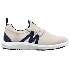 FootJoy Womens Leisure Slip On Golf Shoes Grey/Navy