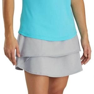 FootJoy Womens Performance Layered Golf Skort - Heather Grey