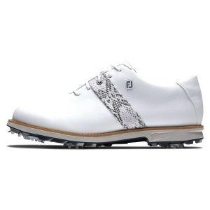 FootJoy Womens Premiere Series Golf Shoes White/Snake