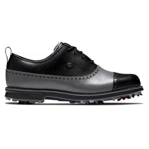FootJoy Womens Dryjoys Premiere Series Golf Shoes Black/Charcoal/Black