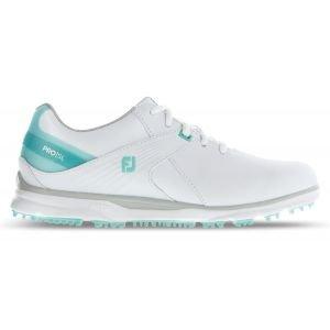 FootJoy Womens Pro/SL Golf Shoes White/Aqua