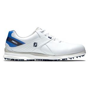 FootJoy Womens Pro/SL Golf Shoes - White/Blue 98132