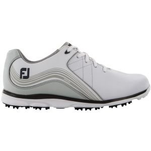 FootJoy Womens Pro SL Spikeless Golf Shoes White/Charcoal