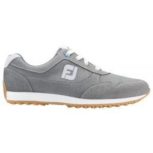 FootJoy Womens Sport Retro Spikeless Golf Shoes Grey - 92385
