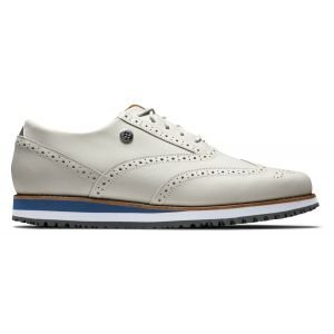 FootJoy Ladies Sport Retro Spikeless Golf Shoes White 92365