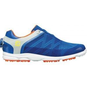 FootJoy Womens Sport SL BOA Golf Shoes Blue/Light Grey - 98031
