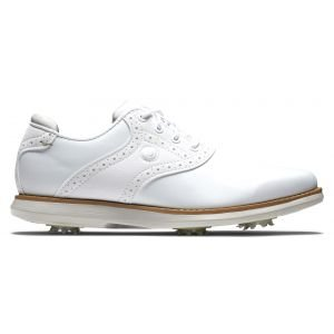 FootJoy Womens Traditions Golf Shoes White/White