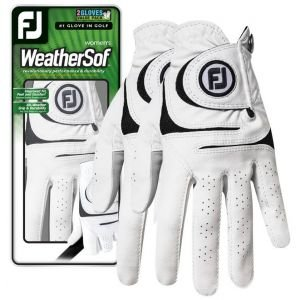 FootJoy Womens WeatherSof 2-Pack Golf Gloves