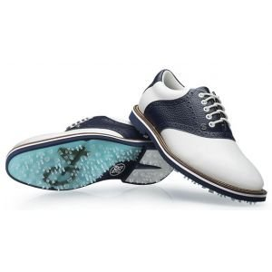 G/Fore Saddle Gallivanter Golf Shoes 2019 Snow/Twilight