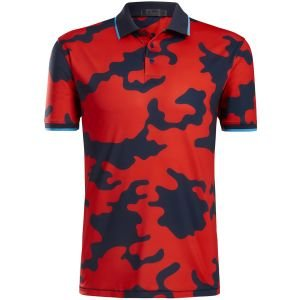 G/FORE Exploded Camo Golf Polo