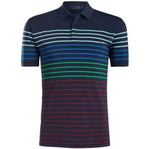 G/FORE Variegated Stripe Golf Polo