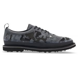 G/FORE Camo Knit Tuxedo Gallivanter Golf Shoes Onyx