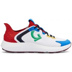 G/FORE MG4X2 Cross Trainer Golf Shoes Snow/Poppy