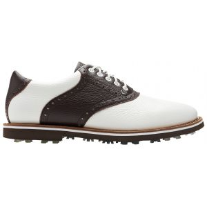 G/FORE Saddle Gallivanter Golf Shoes Snow/Espresso On Sale