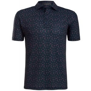 G/FORE Small Floral Golf Polo
