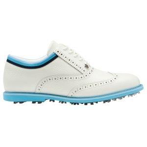 G/Fore Women's Grosgrain Brogue Gallivanter Golf Shoes Snow/Tulum