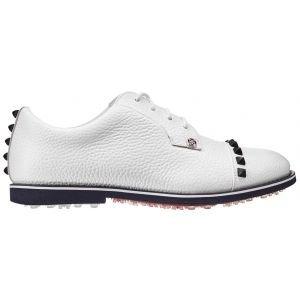 G/Fore Womens Stud Cap Toe Gallivanter Golf Shoes Snow 2020