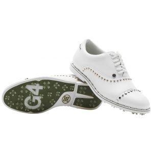 G/Fore Womens Welt Stud Gallivanter Golf Shoes Snow 2020