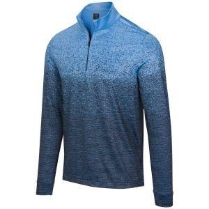 Greg Norman Dusk Comfort Stretch 1/4 Zip Mock Golf Pullover