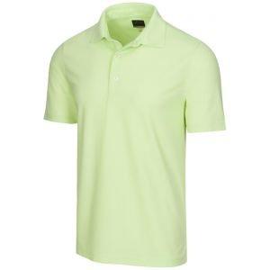 Greg Norman Protek Heathered Micro Pique Golf Polo
