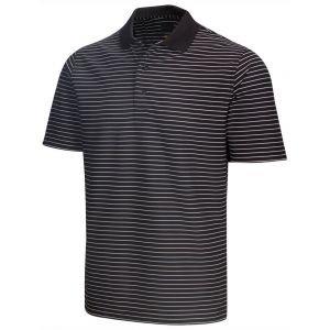 Greg Norman Protek Micro Pique Stripe Golf Polo