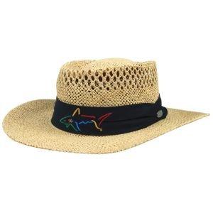 Greg Norman Signature Straw Golf Hat