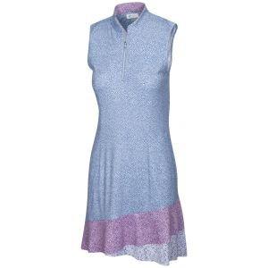 Greg Norman Women's ML75 Piazza Sleeveless Flounce Golf Dress
