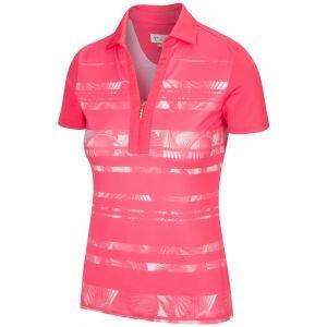 Greg Norman Women's Sol Stretch Zip Golf Polo