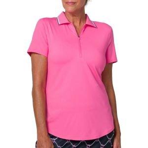 JoFit Women's Performance Rib Collar Golf Polo
