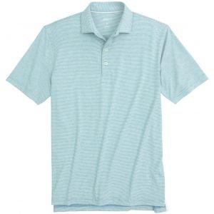 johnnie-O Lyndon Stripe Golf Polo