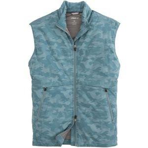 johnnie-O Rippen 2-Way Zip Front Lightweight Puffer Golf Vest