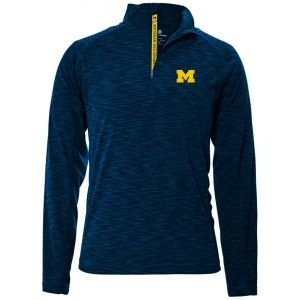 Levelwear University Of Michigan Mobility Quarter-Zip Golf Pullover