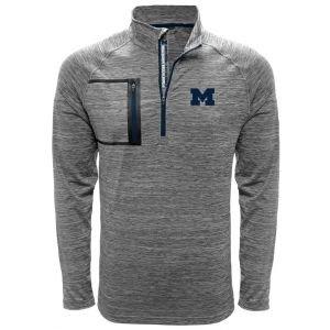 Levelwear University Of Michigan Vault Quarter-Zip Golf Pullover