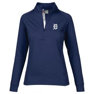 Levelwear Ladies Detroit Tigers Essence Golf Pullover