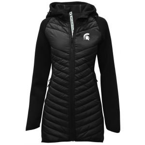 Levelwear Womens Michigan State Spartans Verve Luna Golf Jacket