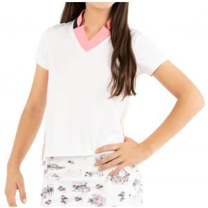 Lucky In Love Junior Girls Chi Chi Golf Polo
