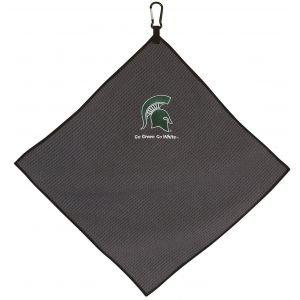 Michigan State Spartans Golf Towel Grey
