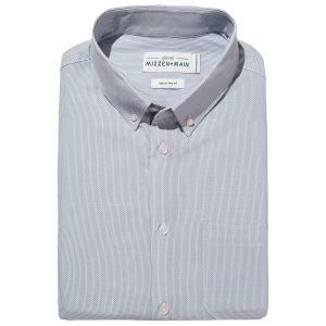 Mizzen + Main Dodd Short Sleeve Woven Dress Shirt