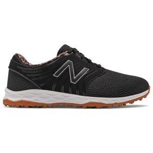 New Balance Womens Fresh Foam Breathe Golf Shoes Black/Animal