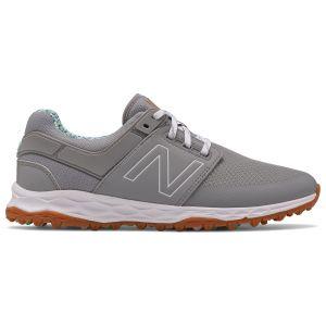 New Balance Womens Fresh Foam Links SL Golf Shoes Grey/Blue